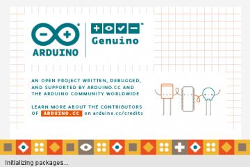 Arduino IDE Initialize