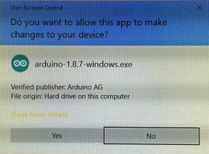 Arduino IDE Install Permission