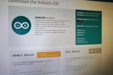 Cara Memasang Perisian Arduino