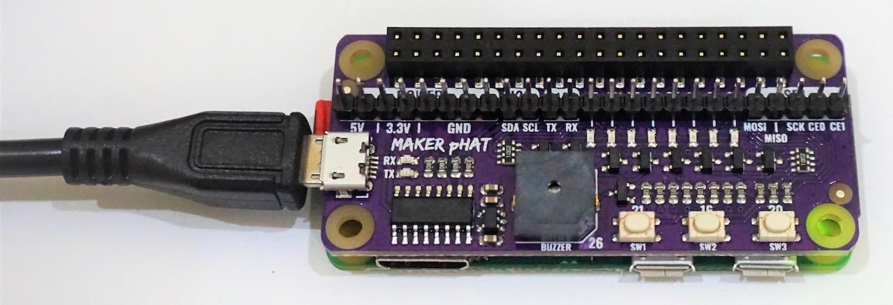 Maker pHAT Pi Zero