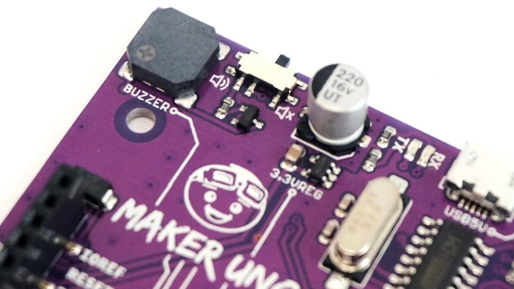 Maker UNO Piezo Buzzer