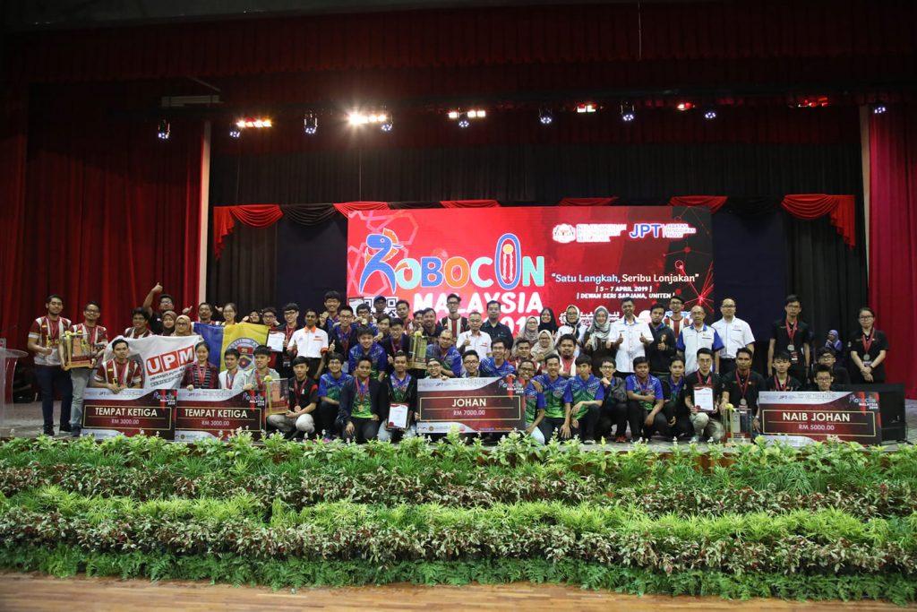 Pemenang Robocon Malaysia 2019