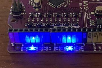 Menghasilkan Corak Cahaya LED