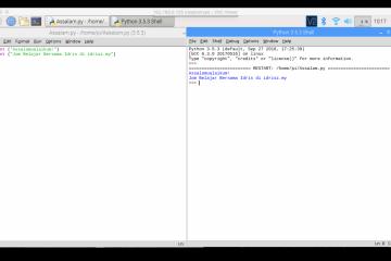 Menjalankan Kod Pengaturcaraan Python
