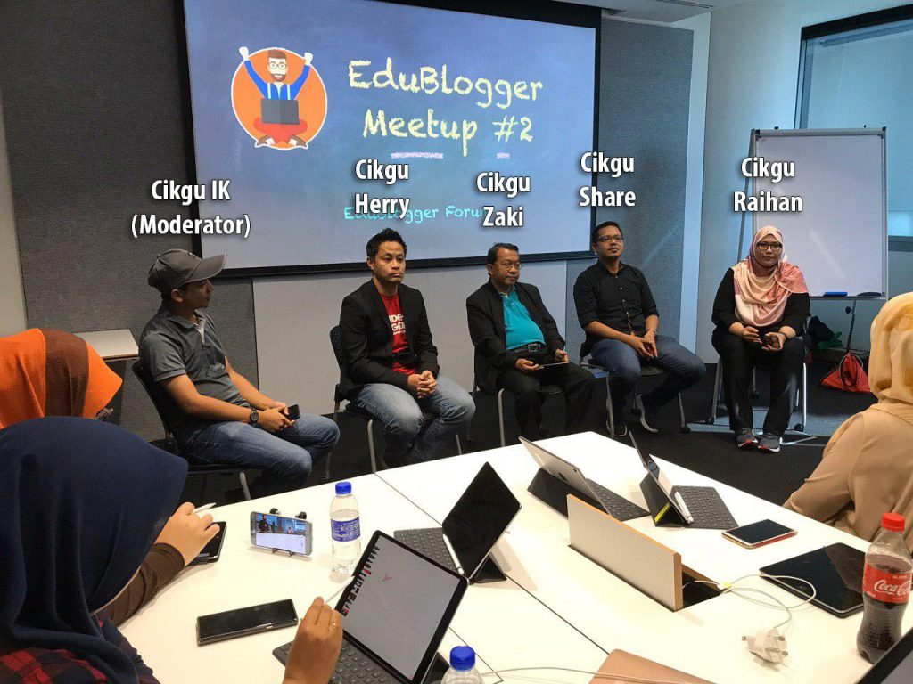 EduBlogger Meetup #2 Sesi Forum